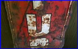 Vintage Large Century Tires Service Station Sign 60x14 Gas Oil