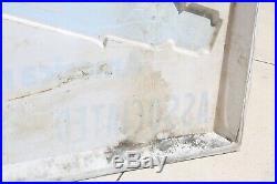Vintage MONROE Shocks Tire Sign 6ft Advertising Gas Station plastic sign large