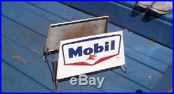 Vintage Mobil Auto Truck Tire Display Rack Sign Gas Gasoline Oil With Pegasus