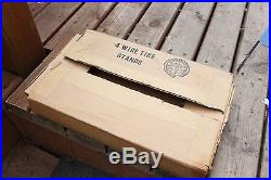 Vintage NOS Goodyear Sign Tire Stand Original Store Display 2 Gas Station Signs