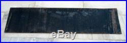 Vintage Original 72'' Dunlop Tyre Oil Gas Station Enamel Porcelain Sign Board