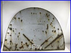 Vintage Original Bf Goodrich Silvertown Tires Porcelain Sign Display Gas & Oil