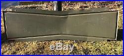 Vintage Original FIRESTONE Tires Dealer Garage Reflective Paint Bow Tie Sign 71