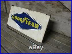 Vintage Original Good Year Tire Rack Stand Display Sign