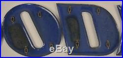 Vintage Original Goodyear Letters Porcelain Sign