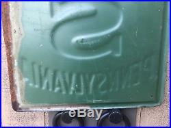 Vintage Pennsylvania Tires Sign Original Collectible Petroliana