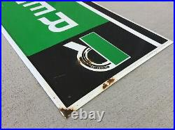 Vintage Remington Tires Embossed Metal Sign Nice Condition