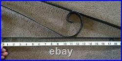 Vintage Sign Bracket 54 Metal Porcelain Gas Oil Garage Tire Business Decor 2