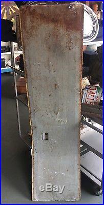 Vintage Tall Metal Dayton Tires Rustic Antique Sign Garage Mancave Decorative