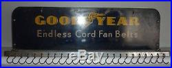 Vintage Tin GOODYEAR Fan Belt Service Rack