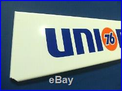 Vintage Union 76 Tire Sign Original Metal Gas Station Gas Oil Advertising Sign