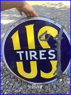 Vintage Us Tire Sign