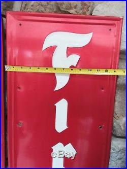 Vintage firestone signs (2)