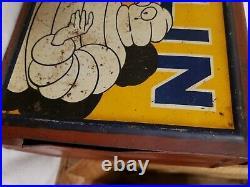 Vintage michelin tire repair box